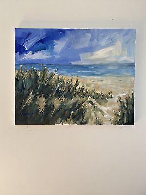 Oil Painting Seascape Modern Beach