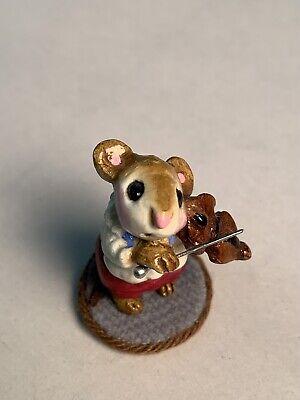 Wee Forest Folk Mouse Violinist M-031 1979