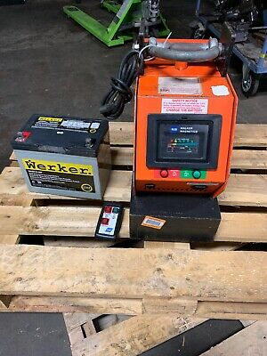 Walker Wbm-25 5500lbs Electric Lifting Magnet Clean Unit