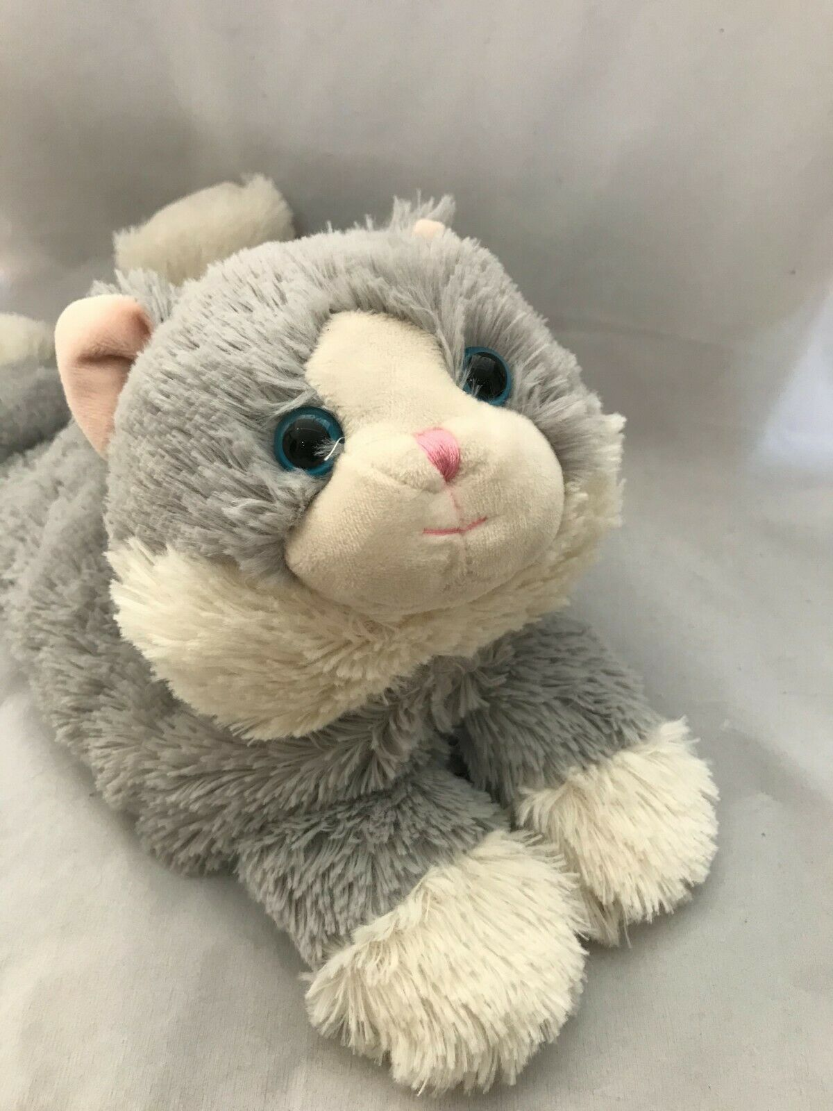 Warmies fuzzy cat microwavable heated comfort with lavender