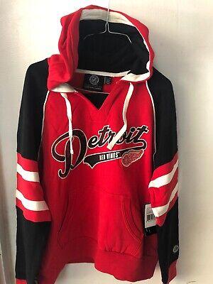 Detroit Red Wings Women's 2XL Hoodie Sweatshirt New Nhl Hockey GIII -