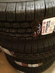 Set of SUV tires new