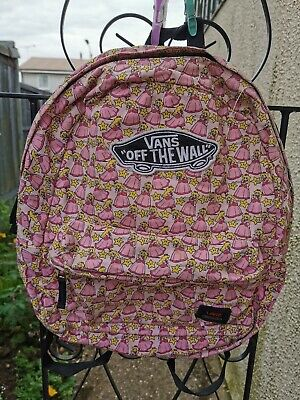 Vans Nintendo Princess Peach Pink Backpack  RARE Collectors
