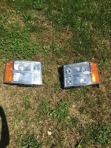 07-13 gmc sierra headlights