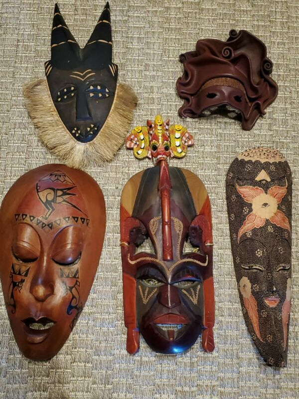 Mask Wooden Lot