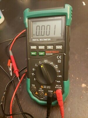 Mastech Ms8268 Series Digital Acdc Automanual Range Digital Multimeter