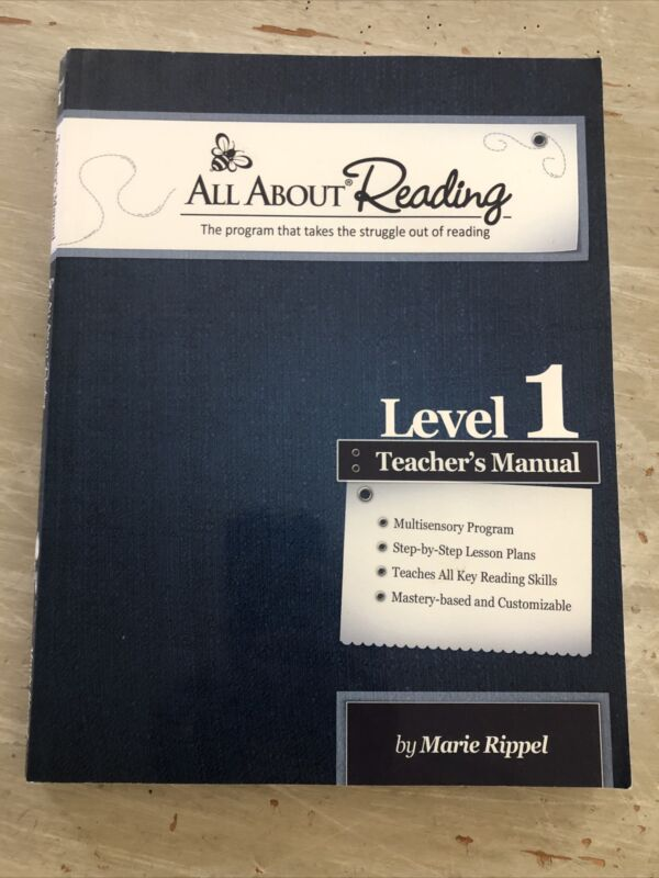 All About Reading, LEVEL 1, Teacher