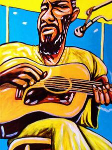 Richie Havens Print Poster Folk Festival Woodstock Best Of