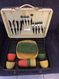 Retro Nally Sunlander Picnic Set in good used condition Panania Bankstown Area Preview