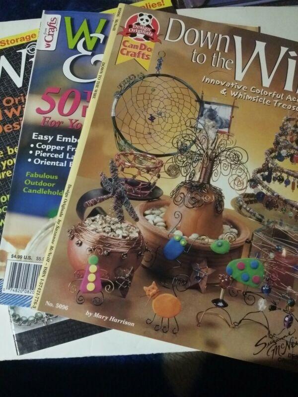 Lot Of Three Wire/ Wire Jewelry Magazines