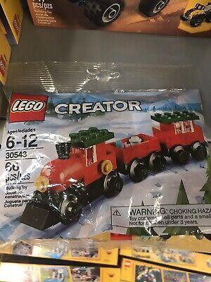 Lego 30543 Creator Holiday Christmas Train Polybag Brand New Sealed