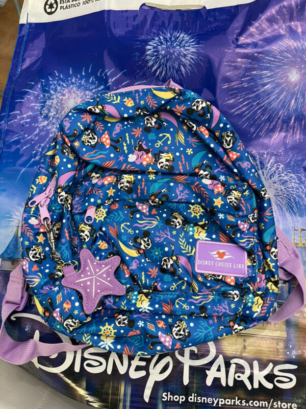 Disney Cruise Line Minnie Mouse Mini Backpack New With Tags