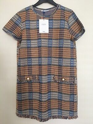 Brand New Zara Trafaluc Dress Size L (approx UK size 12) Brand New With Tag