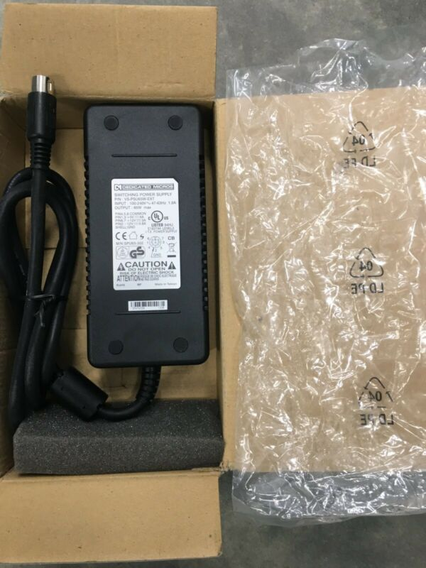 65W Switching Power Supply  VS-PSU65W-EXT dd-pseuext65w AC Adapter 5V/12V 6A/3A