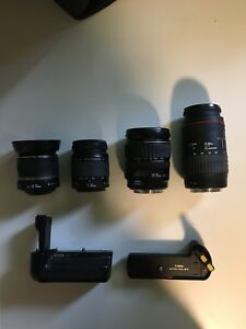 Canon 18-300mm Lenses (Excellent condition)