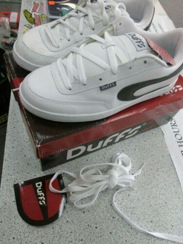 Duffs Sinister shoes charcoal & white size US 11.5 EU 45.5 skate shoes bmx shoes