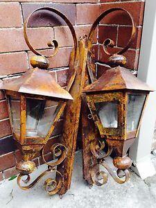 Ornamental Metal Lanterns Naremburn Willoughby Area Preview