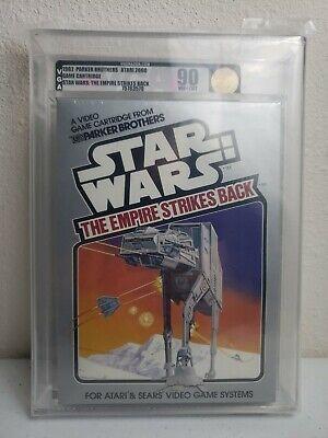 Star Wars Empire Strikes Back VGA 90 Gold Atari 2600 New Sealed Wata