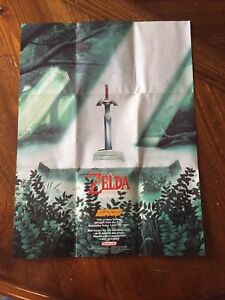 Collectible Legend of Zelda a link to the past poster