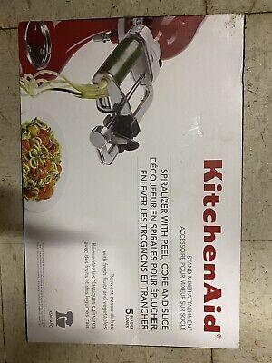 NEW NIB KITCHENAID 5 Blade Attachment SPIRALIZER/CORER/SLICER/PEELER $99
