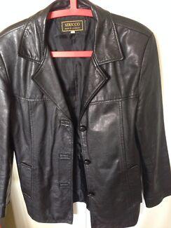 Women's black leather jacket Brighton-le-sands Rockdale Area Preview