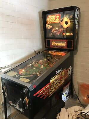 World Challenge Soccer Pinball Machine