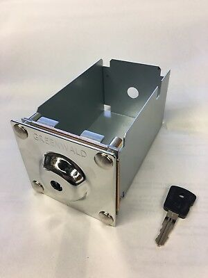 Whirlpool / Maytag Money Box Coin Box with Key Greenwald 8-1170 ESD 72199-XD