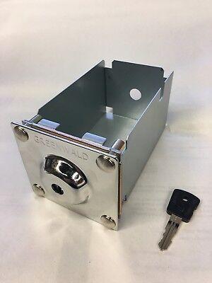 Whirlpool Maytag Money Box Coin Box With Key Greenwald 8-1170 Esd 72199-xd