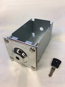Whirlpool / Maytag Money Box Coin Box with Key Greenwald 8-1170 ESD 72199-XD