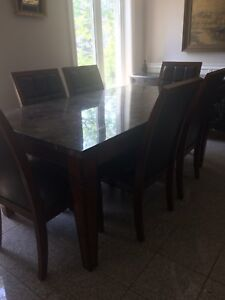 Table en granite