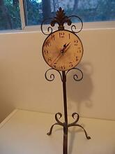 French style metal desk clock Artarmon Willoughby Area Preview