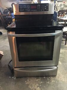 LG stainless steel stove