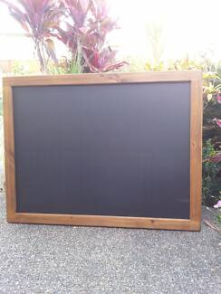 Timber Framed Menu Chalkboard Blackboard Restaurant Cafe Bar Bist