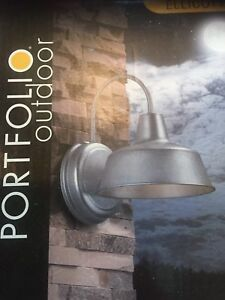Portfolio outdoor light/lantern new in box