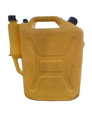 Wedco Diesel 5 Gallon Fuel Can Model 81045 No Spout