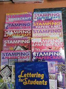 Stamping and Paper Craft Magazines (10) Riverglades Murray Bridge Area Preview
