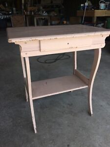 Old nightstand table
