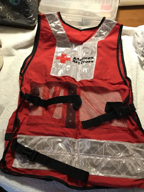 AMERICAN RED CROSS DISASTER RELIEF VEST Size L Or XL