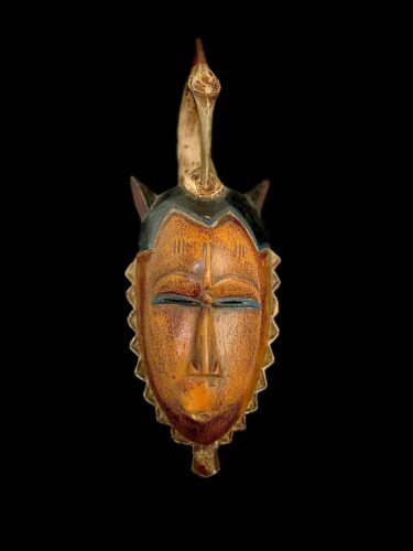 Beautiful African Mask An tribal iconic Guro mask (3742 - G)