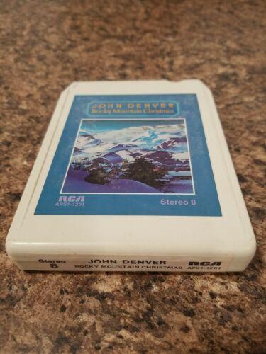 John Denver Rocky Mountain Christmas Vintage 8 Track Tape - $0.99