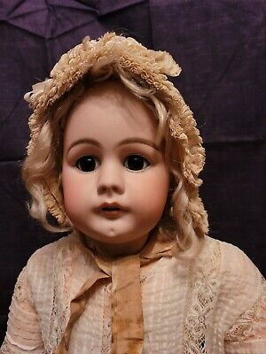 "Antique Simon And Halbig 949 Doll 34"" Tall"