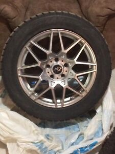 225/55/R17 winter rims and tires