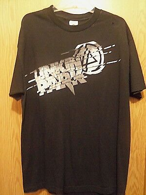 Linkin park black graphic large t shirt