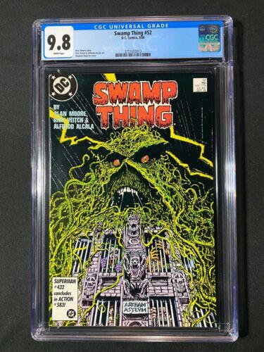 Swamp Thing #52 CGC 9.8 (1986) - Alan Moore story