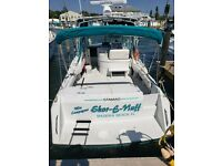 1994 Stamas Yachts 310 Express twin diesel engines turn key boat ready to fish!
