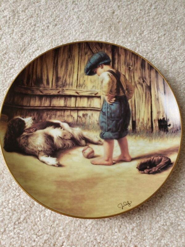 The Thief By Jim Daly. A Danbury Mint Plate. # A5591