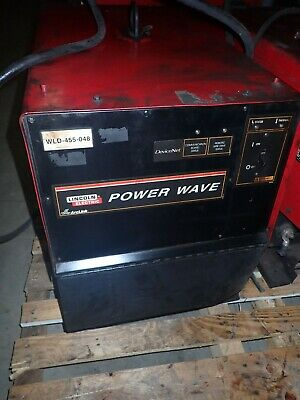 Lincoln Electric Power Wave 455m Welder 3ph 208230460575v-ac