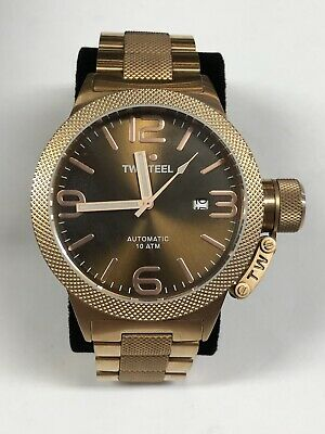 TW Steel CB195 Rose Gold Canteen Automatic Watch