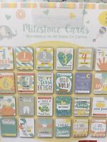 Milestone Baby Cards For Baby Shower Baby/toddler/child Gift Christening - perfect moments - ebay.co.uk