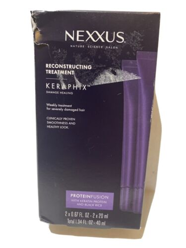 Nexxus Keraphix Gel Treatment, for Damaged Hair 0.67 oz, 2 c